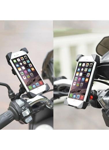 Techmaster Techmaster Motosiklet ve Bisiklet Uyumlu Şarj Girişli Telefon Tutucu Renkli